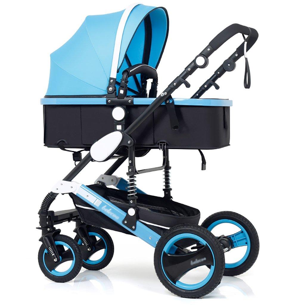 ベビーキャリッジ、折りたたみ自転車ベビーキャリー、ポータブルベビーベビーカー、1ヶ月から4歳までのベビーカーのトロリー、子供の歩行車 (色 : G g) B07DVFJNW9 G g G g