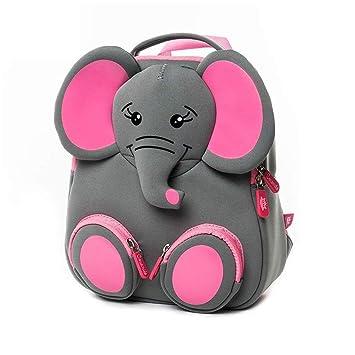 Mochilas Infantiles, 3D Mochila Infantil Animales Impermeable Mochila Bebé Guardería Preescolar Bolsa Toddler Escolar Backpacks para Niño Niña 2-6 años, ...