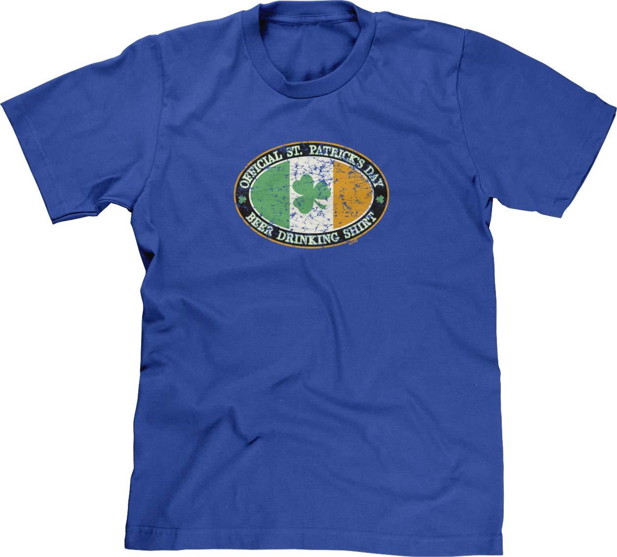 S Tshirt St Patricks Day Beer Drinking Shirt