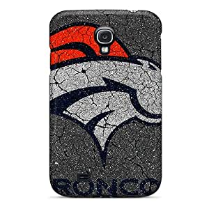 Ultra Slim Fit Hard Allcky Case Cover Specially Made For Galaxy S4- Denver Broncos