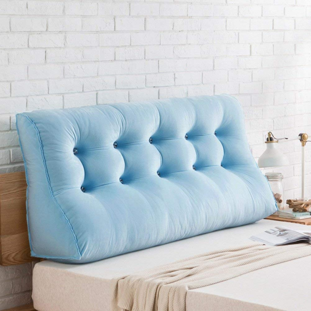 D 150 x 30 x 60cm Backrest for Bed Cushion,Bedroom Pillow Back Waist Cushion, Detachable and Washable Bedroom 7 Sizes Optional (color   B, Size   120 x 30 x 60cm)