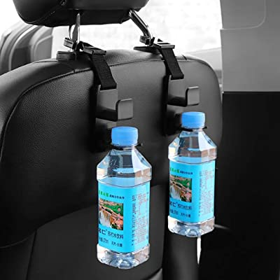 LEANO New Strong Car Back Seat Hanger Storage Hooks for Bag Purse Cloth Grocery Upholstery & Trim Tools : Baby