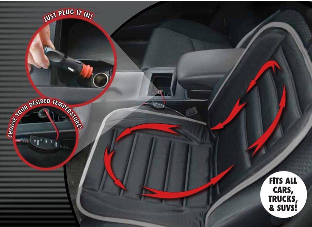 Amazon Hot Headz 12V Heated Seat Cushion Sports Outdoors