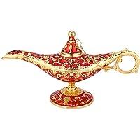 Lámpara mágica de Aladdin, Retro Metal Fairy Tale