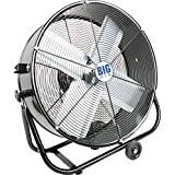 Big Air 24 Drum Fan with Tilting Feature ES