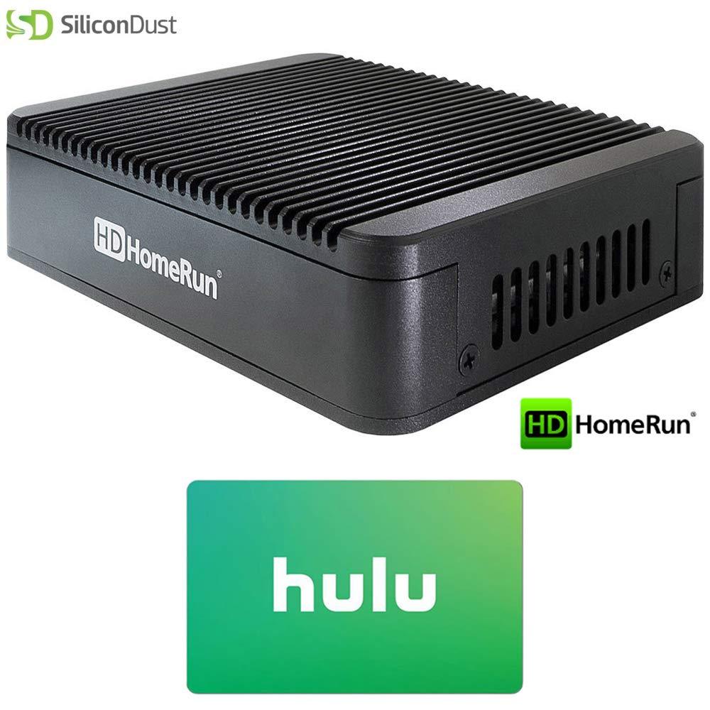 SiliconDust (HDTC-2US-M HDHomeRun Extend ATSC with Free Broadcast HDTV (2-Tuner) Cut The Cord Bundle w/ $25 Hulu Plus Gift Card
