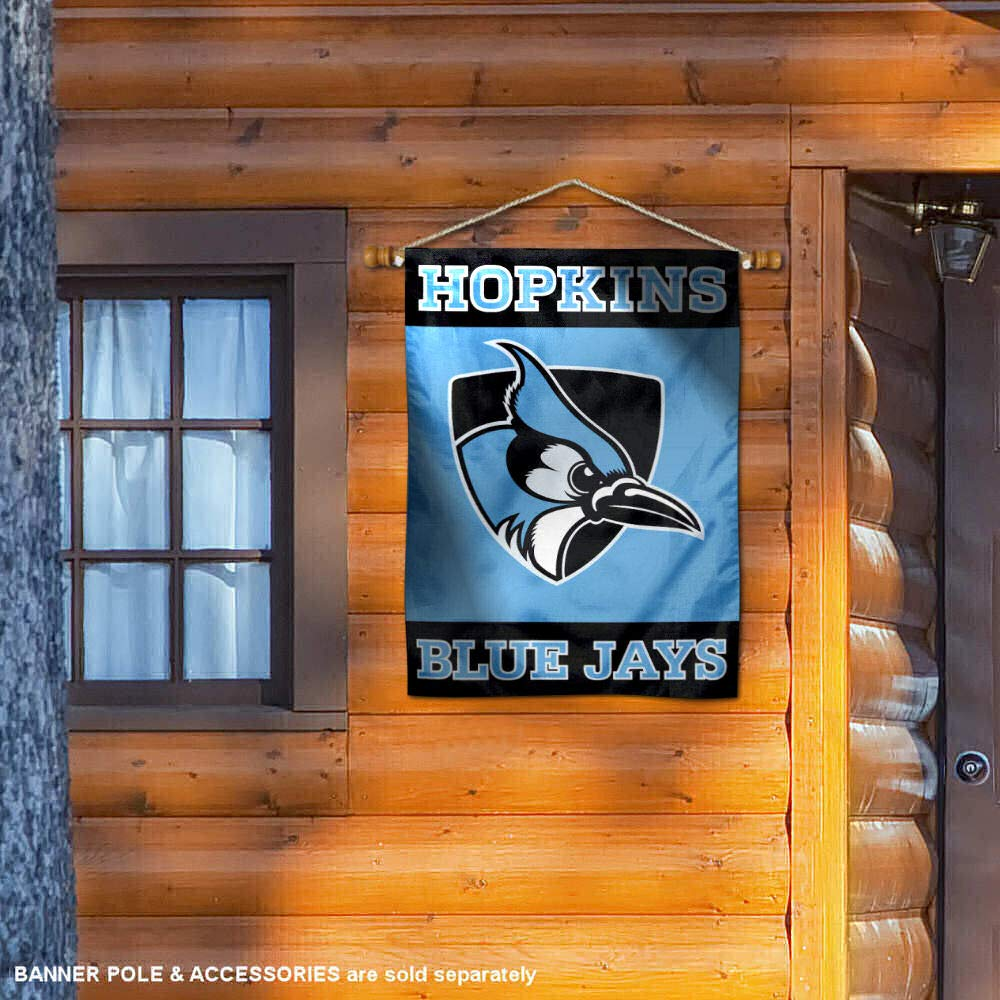 Johns Hopkins Blue Jays Double Sided and Two Sided House Flag