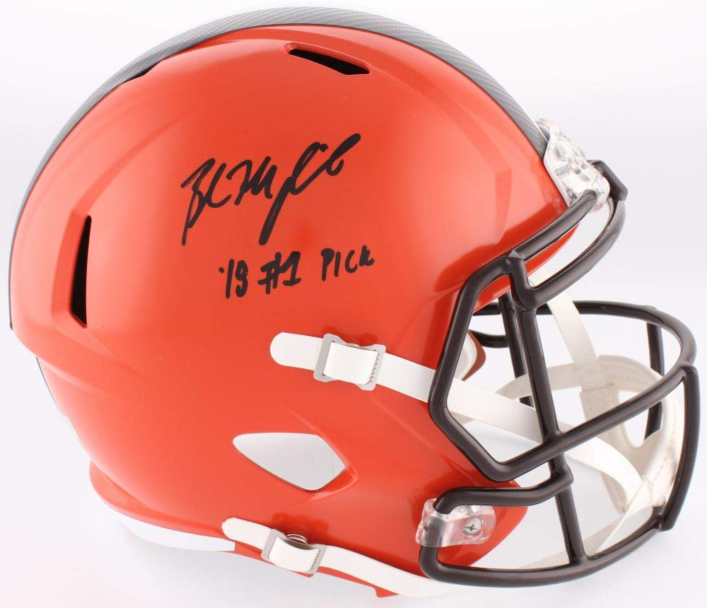 Baker Mayfield Cleveland Browns Signed Autograph Full Size Speed ...