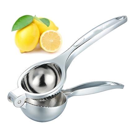 Exprimidor de Limones Manual Exprimidor Acero Inoxidable para Cítricos Thinp Exprimidor de Cítricos , Solo una
