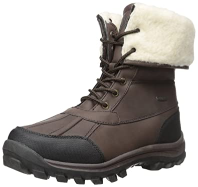 Amazon.com | DREAM PAIRS Men's Winter Insulated Laced Up Water ...