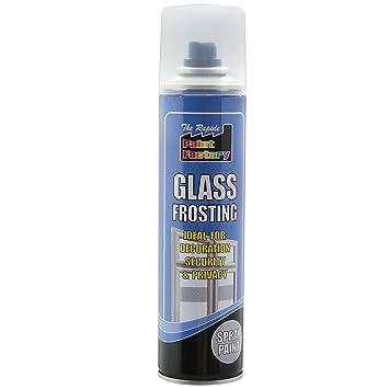 Cristal glaseado blanco pintura en spray 300 ml puede mínima pérdida ...