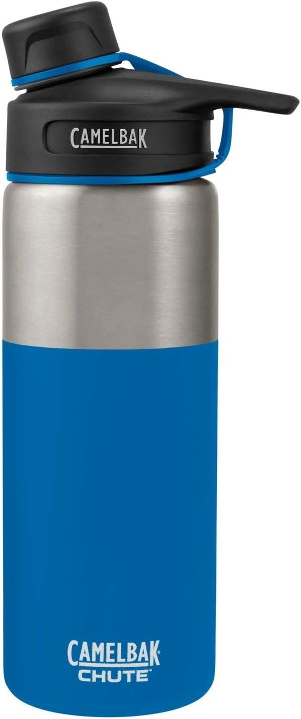 Amazon Com Camelbak 1287401060 Chute Vacuum Insulated Stainless Water Bottle Cascade 20 Oz Sports Outdoors