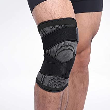 Sports & Entertainment 3d Weaving Pressurization Knee Brace Hiking Cycling Knee Support Wear-resisting Ventilation Men Women Knee Pad