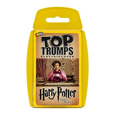 Top Trumps Harry Potter and The Order of The Phoenix Card Game | Educational Card Games: Toys & Games