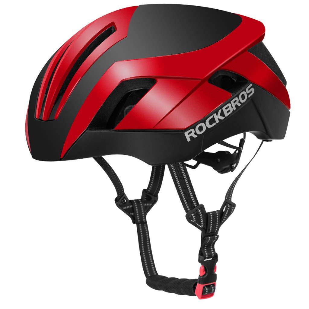Erwachsenen Radfahren Fahrradhelm, Umweltfreundliche Einstellbare Dreiheit Männer Frauen Mountainbike Rennrad Helm Sicherheit Schutz