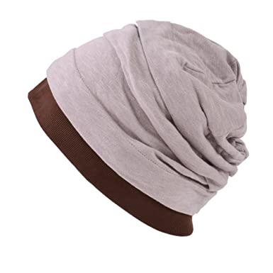 e4fe0f26e8b Casualbox mens Japanese Design Cotton linen Big Beanie Hat Baggy Slouch  Pink  Amazon.ca  Clothing   Accessories