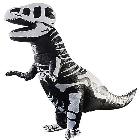 Amosfun - Disfraz de Dinosaurio Hinchable para niños ...