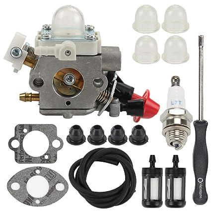 C1M S267A Carburetor For Stihl FS40 FS50 FS50C HT56 HT56C KM56 KM56C KN56 FS56 FS56C FS70 FS70C Trimmers Carb Replaces Zama 4144 120 0608 With