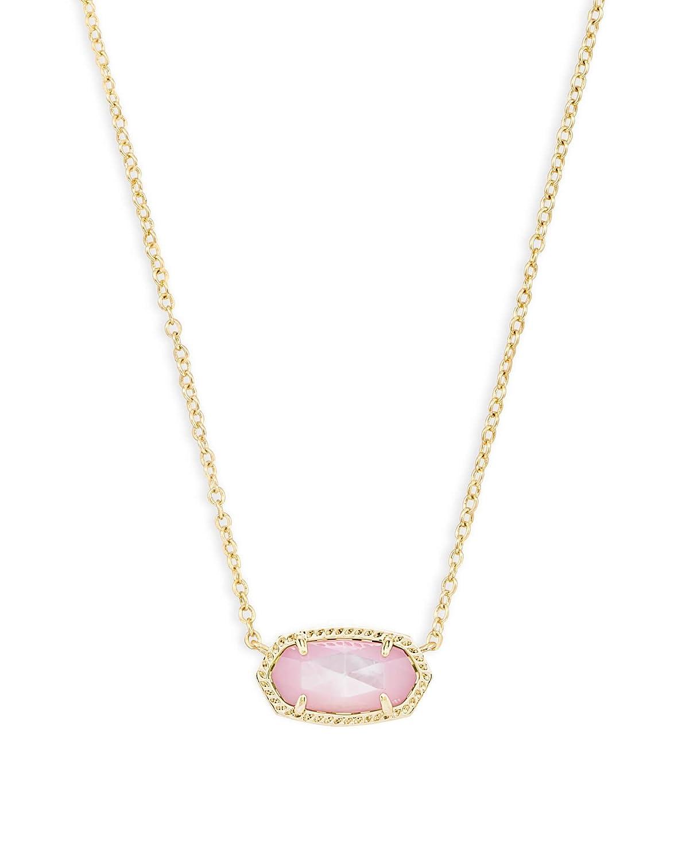 Kendra Scott Elisa Pendant Necklace In Blush Pearl