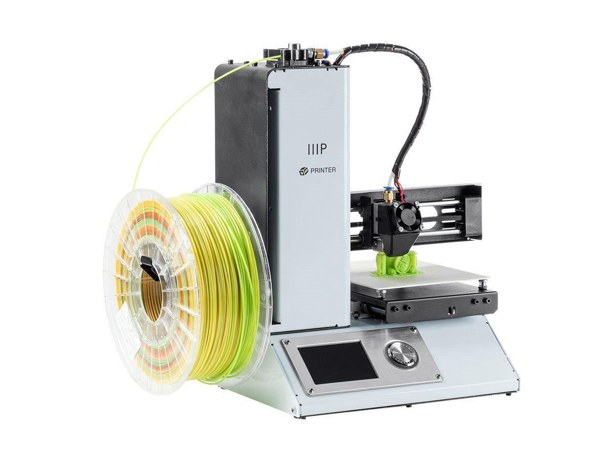 Monoprice Select Mini 3D · Placa Calefactada y Adaptador Europeo