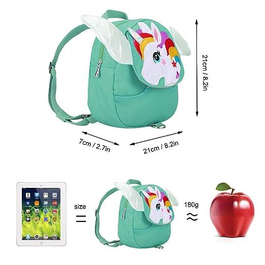 Accmor mochila con arnés para niños con unicornio para caminar con ...