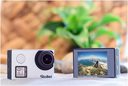 Rollei Actioncam 530 Wifi Action Cam Silber Kamera