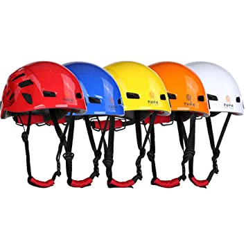 Sharplace Casco Protector para Escalada Rappel Alpinismo - Azul