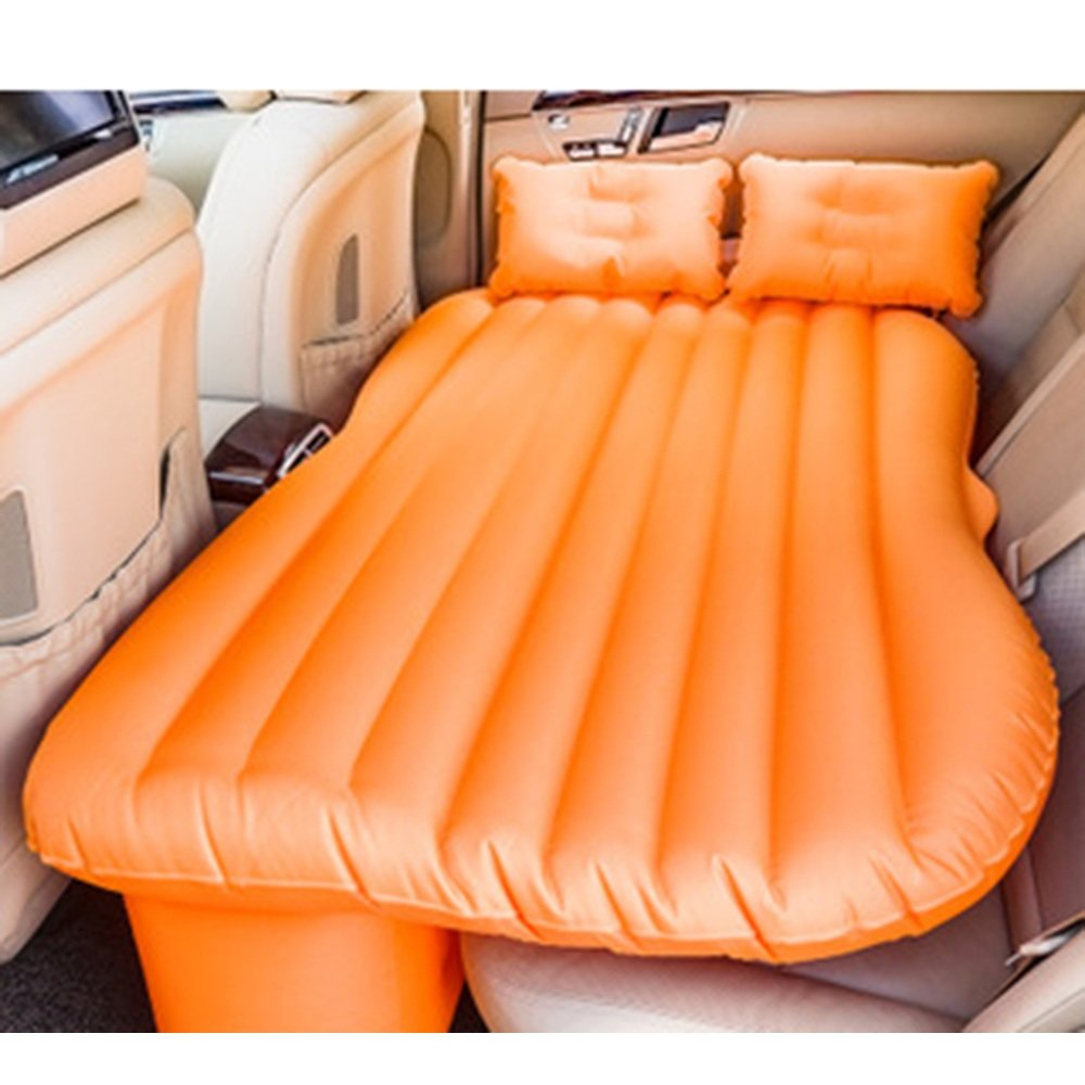 YQQ Tragbar Selbstfahrendes Reisebett Auto Aufblasbares Bett Im Freien Kampieren Luftmatratze (Farbe : Orange, größe : 1)