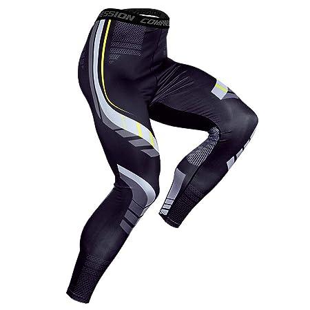 YOJOLO Leggings para Hombres, Pantalones De Compresión Mallas ...