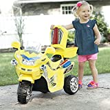 Rockin' Rollers M370043 3 Wheel Battery Powered FX Sport Bike - Yellow Ride On
