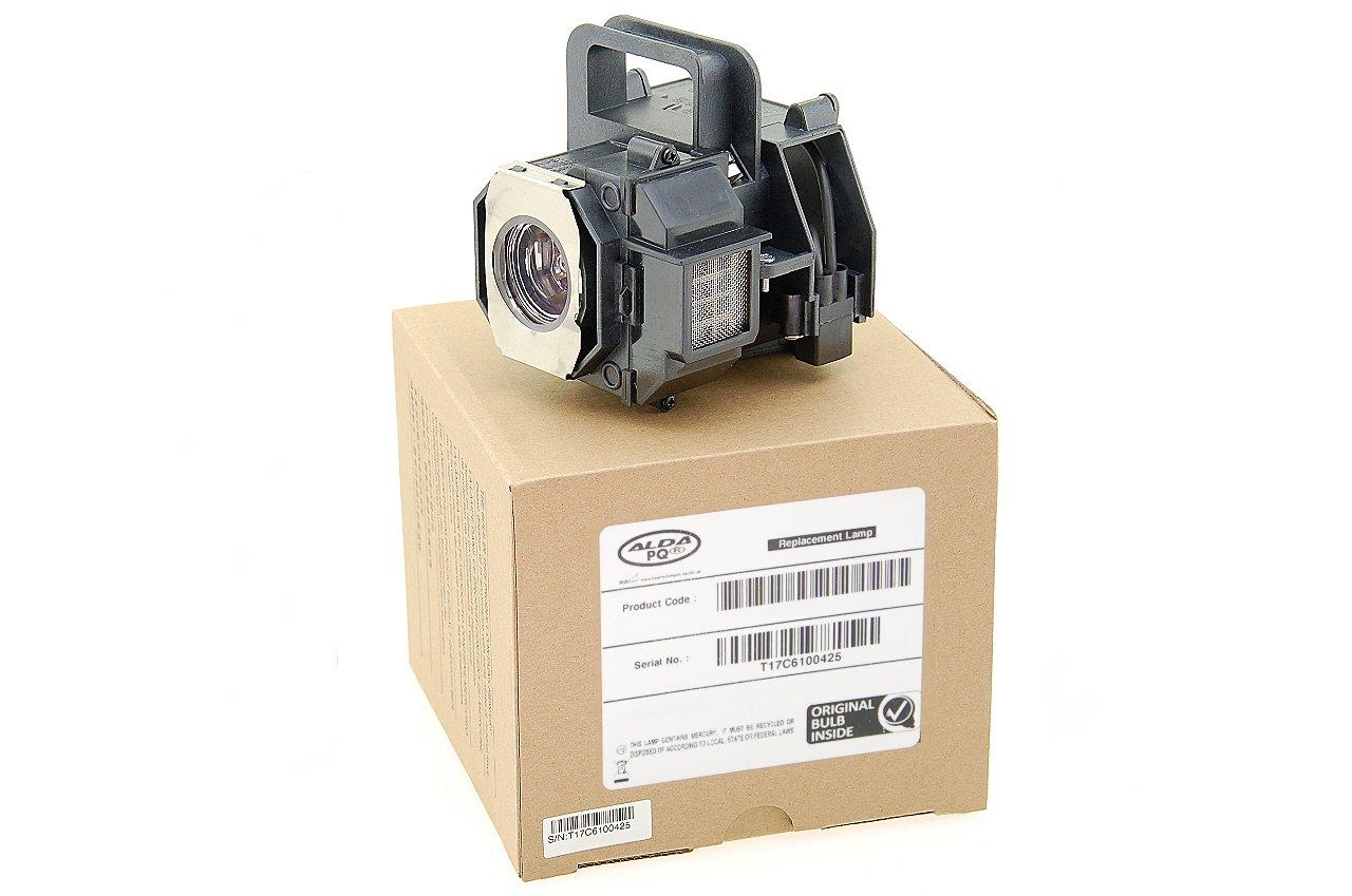 Alda PQ Original, Lampada proiettore per EPSON EH-TW5000 Proiettori, lampada di marca con PRO-G6s alloggio 13927
