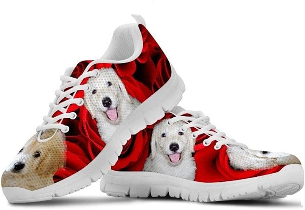 Print Casual Running Shoes for Men- E/&E Solutions White Great Dane Dog Great Dane Lovers