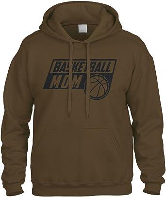 zerogravitee Basketball Mom Adult Hooded Sweatshirt in 9 Colors