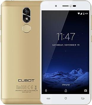 Cubot R9 Smartphone Android 7.0 3G Pantalla 5 Pulgadas 2,5D IPS HD MTK6580 1.3GHz