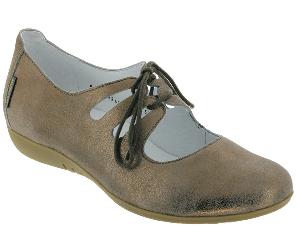 Mephisto - - Chaussures DARYA pailleté - - Taupe 41 EU|Dk Taupe 3bbbfb