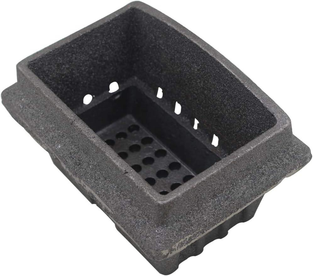 Brasero para estufa de pellets quemador pellets hierro fundido
