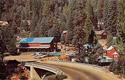 - Strawberry California Sonora Pass Street View Vintage Postcard K33764
