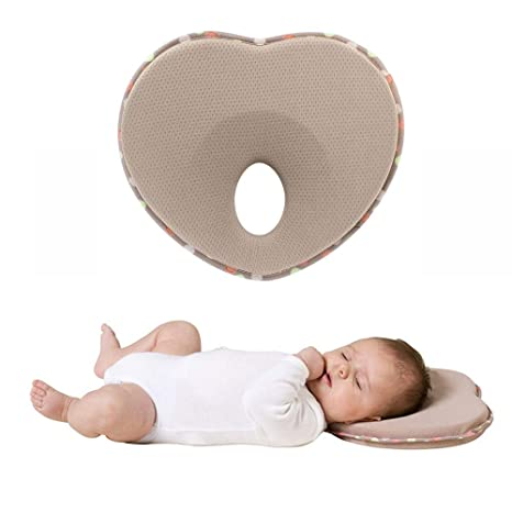 Soft Memory Foam Baby Pillow for Neck Support and Newborn Head Shaping Pillow