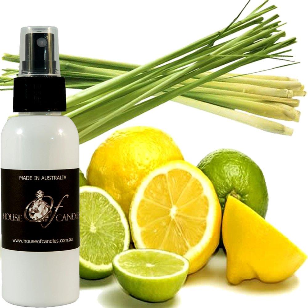 Lemongrass & Persian Limes Car Air Freshener Spray/Deodoriser Mist XSTRONG 50ml/1.7oz Vegan & Cruelty Free House Of Candles