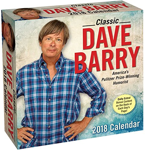 Classic Dave Barry 2018 Day-to-Day Calendar