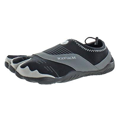 f25b016b54b2 Body Glove Men s Cinch Trail Running Shoe Black Dark Shadow 7 ...