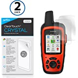Garmin inReach Explorer+ Screen Protector, BoxWave [ClearTouch Crystal (2-Pack)] HD Film Skin - Shields From Scratches for Garmin inReach Explorer+, SE+