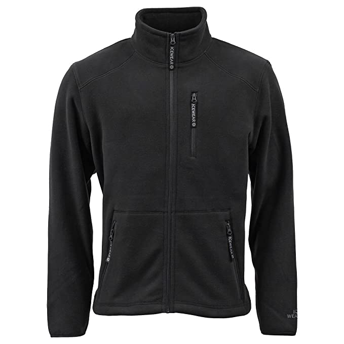 Is Polyester Warm.Icewear Hrafn Water Repellent Jacket For Men Polyester Fleece Warm Clothing