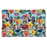 Blue Hawaii -- Elvis Presley -- Fleece Throw Blanket by Elvis Presley