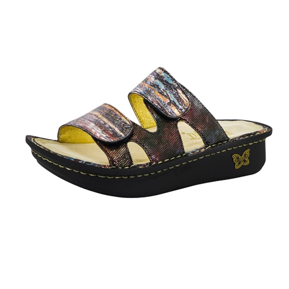 Alegria Womens Camille Slide Sandal Earthen Size 40 EU (10 M US Women) by Alegria