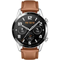 """HUAWEI Watch GT 2 Smart Watch, 1.39"""" AMOLED Display with 3D Glass Screen, 2 Weeks Battery Life, GPS, 15 Sport Modes, 3D…"""