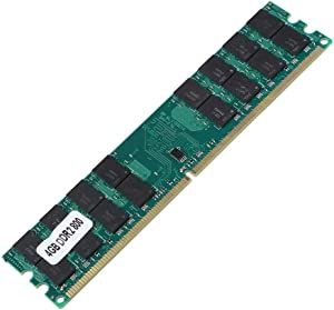 Zopsc 4GB 800MHz DDR2 Memory Module 4GB RAM Ensure Stable and Fast Data Transmission 240PIN for High Anti-Interference and Antistatic,for AMD Desktop Computer, Plug and Play