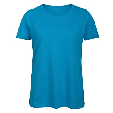 c7948dd409bf2 B C Womens Ladies Favourite Organic Cotton Crew T-Shirt  Amazon.ca ...