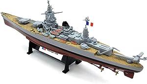 WWII Dunkerque Class French Battleship 1/1000 DIECAST Model Ship Pre-Assembled
