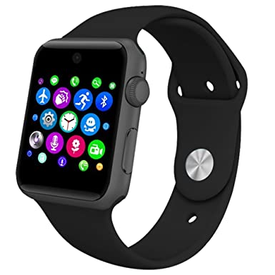 Amazon.com: Lemfo Bluetooth Smart Watch Phone GSM Pedometer ...
